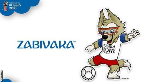 러시아월드컵 공식 마스코트 자비바카 [사진=FIFA 공식 홈페이지]