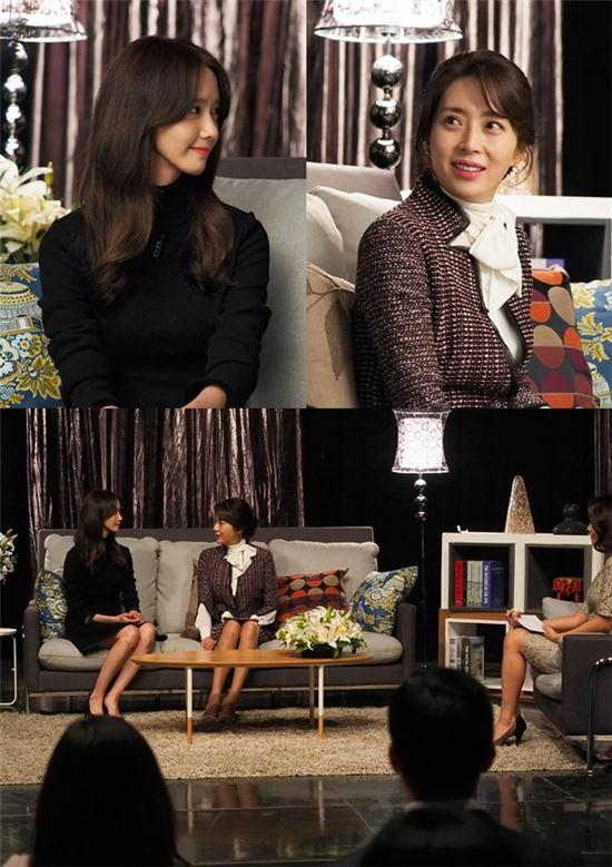 임윤아 송윤아. 사진=tvN '더 케이투' 제공