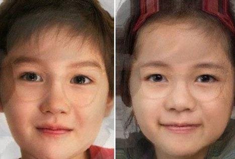 박수진과 배용준의 얼굴을 합성한 가상 2세의 사진이 다시 화제다/사진=온라인 커뮤니티 캡처