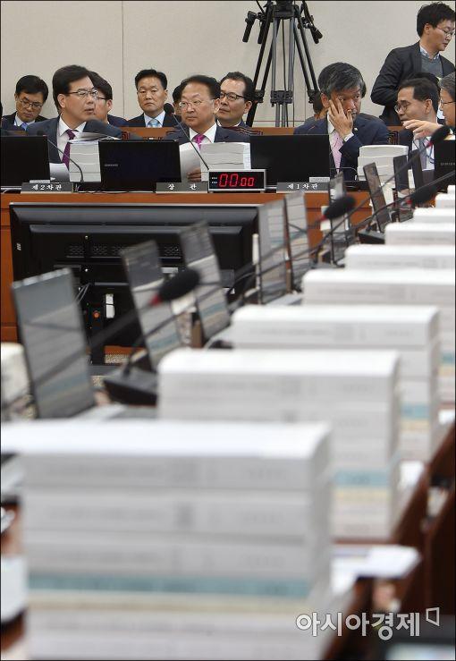 [포토]국회, 400조 예산안 논의 시작