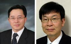 이경묵 서울대학교 교수(좌), 김상조 한성대학교 교수,경제개혁연대 소장(우)