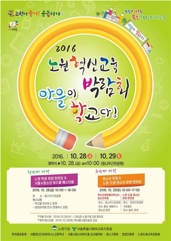 혁신교육박람회 포스터