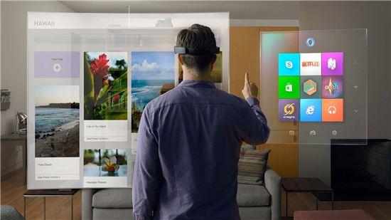 MS, VR·AR 한 데 섞은 '복합현실' 공략한다