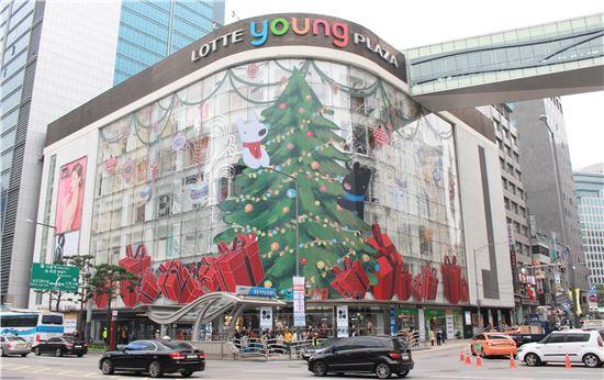 롯데백화점 크리스마스