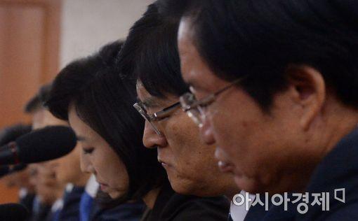 [포토]'심각한 국무위원들'