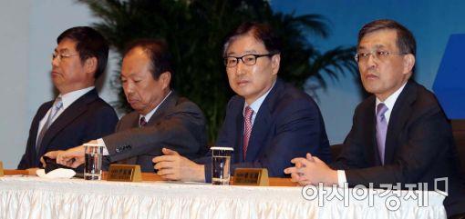 [포토]임시 주주총회 참석한 삼성전자 등기이사들