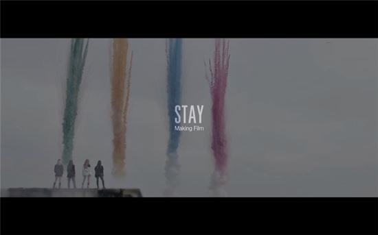 블랙핑크 'STAY' 뮤직비디오 메이킹 필름. 사진=YG엔터테인먼트 제공