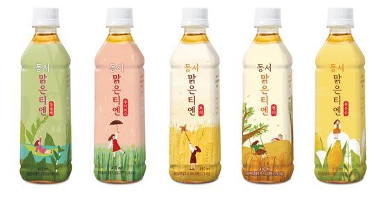 동서식품, 차음료 '동서 맑은티엔' 5종 발매