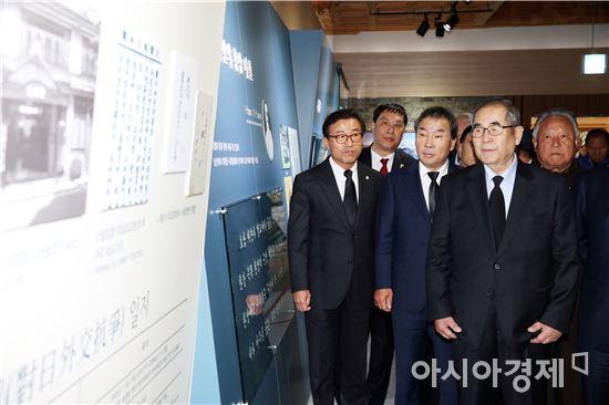 전남도의회 임명규 의장, 홍암 나철선생 서거 100주기 추도식 참석