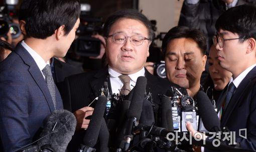 """안종범 """"미르·K재단 대기업 모금, 박 대통령이 세세하게 지시"""""""