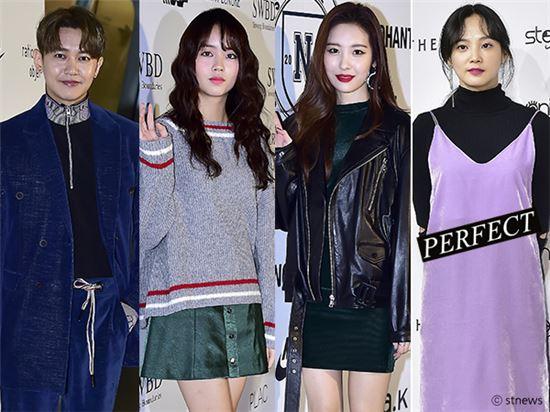 강균성, 김소현, 선미, 윤승아(왼쪽부터)