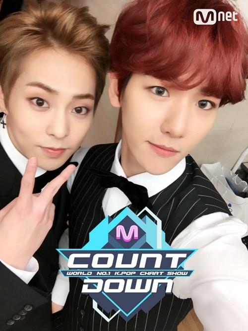 사진=Mnet '엠카운트다운' 공식 트위터