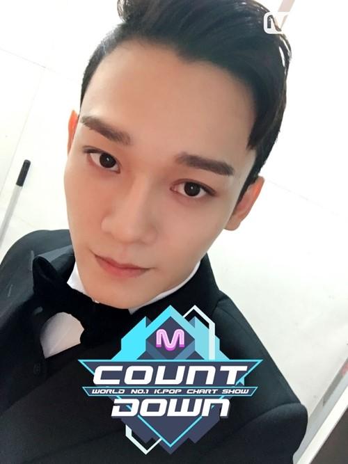사진=Mnet '엠카운트다운' 엑소 첸백시
