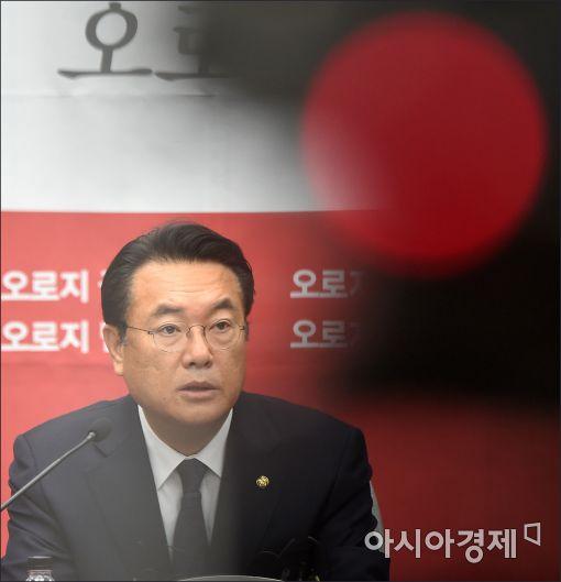 """정진석 """"野, 대통령 탄핵은 섣부른 이야기…국민 35% 반대"""""""