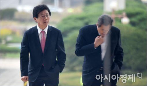 [포토]나란히 걸어오는 유승민·김무성