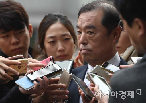 """[포토]김병준, """"지금은 물러날 수 없다"""""""