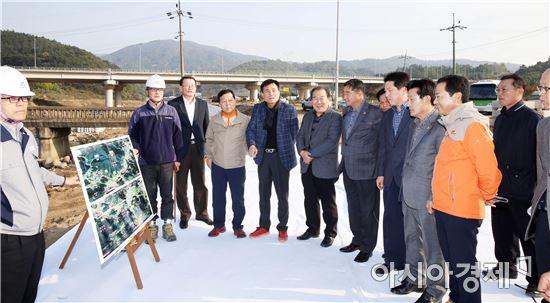 전라남도의회 안전건설소방위원회, 행정사무감사 꼼꼼한 현장확인
