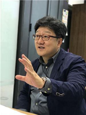 ▲김용욱 신스타임즈 부사장