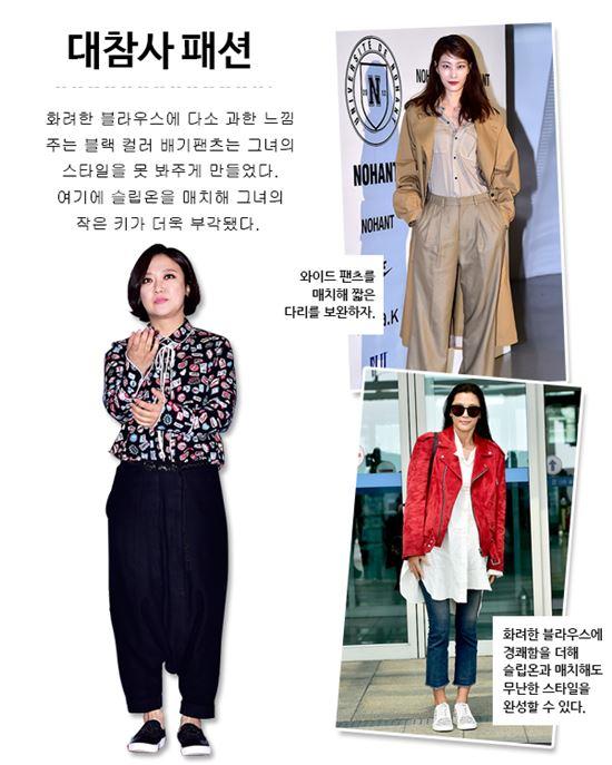 김숙, 이현이, 전지현(왼쪽부터)