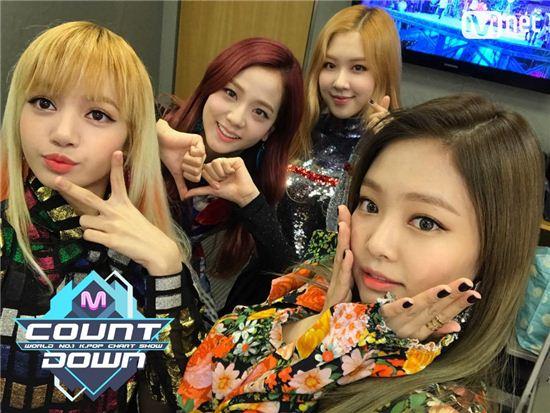 블랙핑크 / 사진=Mnet '엠카운트다운' 트위터