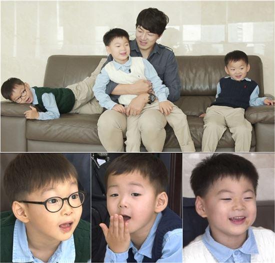 슈퍼맨 삼둥이(대한민국만세) / 사진=KBS2 슈퍼맨이 돌아왔다 제공