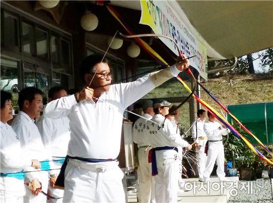 제101회 광주전남 서남부권 궁도대회 함평서 열려