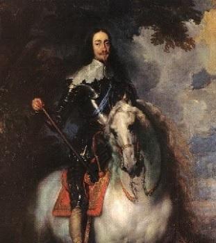 영국왕 찰스1세의 초상(사진=두산백과)