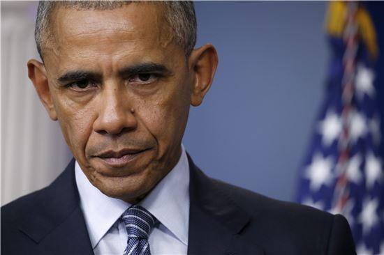 ▲미 대선 후 첫 기자회견 중인 버락 오바마 미국 대통령. (EPA=연합뉴스)