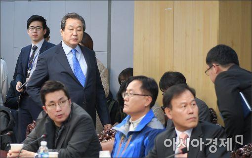 [포토]비상시국회의 참석하는 김무성 전 대표