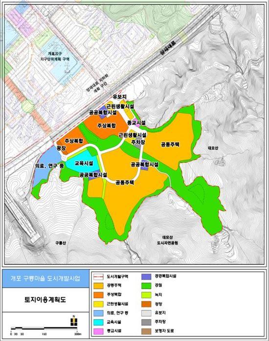 구룡마을 개발계획안