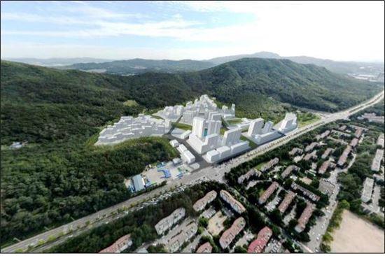 구룡마을 조감도(자료:서울시)
