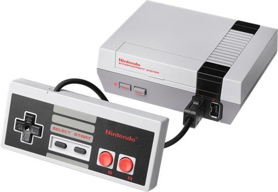 미국, 유럽판 NES.