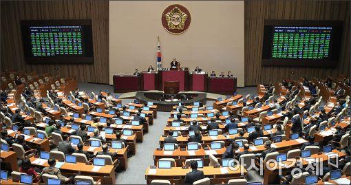 정치권 앞에서 작아지는…총수들만 청문회로