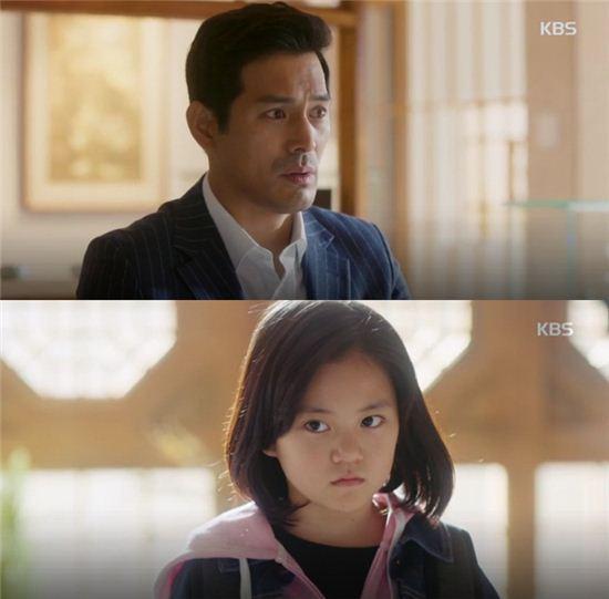 KBS 드라마 '오 마이 금비'에 출연한 오지호와 허정은/사진=KBS 드라마 '오 마이 금비' 캡처