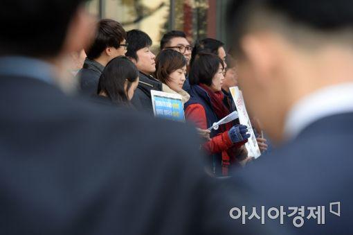 [포토]기자회견 주시하는 차움병원 관계자들