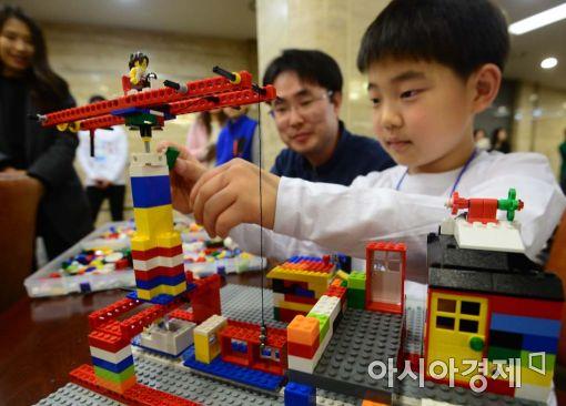 [포토]'어린이가 꿈꾸는 미래의 건물들'