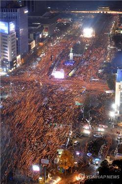촛불집회.사진출처=연합뉴스