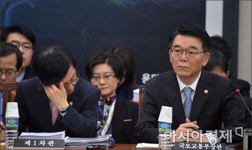 [포토]국회 국토위 출석한 강호인 장관