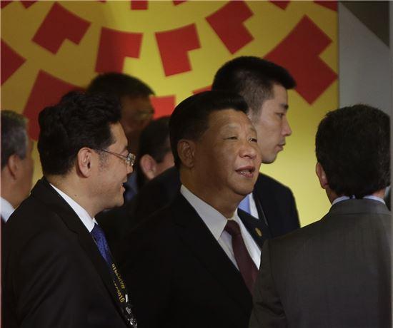 ▲APEC 회의에 참가한 시진핑 중국 국가주석. (AP=연합뉴스)