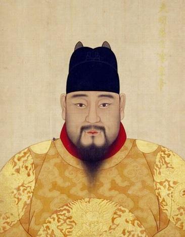 중국 명나라 영종 정통제 초상(사진=위키백과)