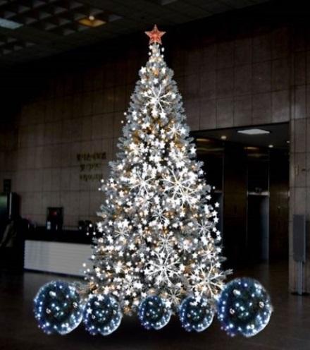 대형 크리스마스 트리