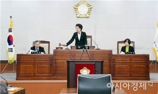 장흥군의회, 제225회 제2차 정례회 의사일정 돌입