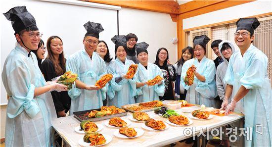 中유학생들, 월봉서원서 '인문힐링 프로그램'