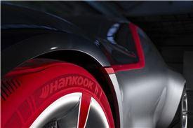 뉴 오펠 GT 콘셉트 카 콘셉트 타이어
