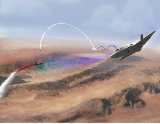 F-35를 전방센서로 활용하는 전투방식 개념도