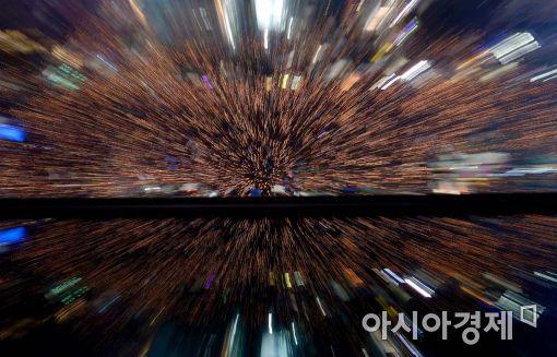 """[11·26 촛불집회]주최측 """"오후6시 현재 서울 60만명 운집""""(상보)"""