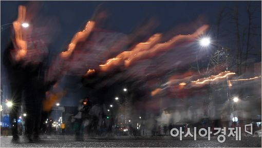 [포토]'촛불은 강물처럼 흐른다'