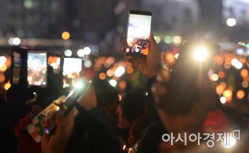 [포토]국정농단 사태, 하나로 뭉친 국민