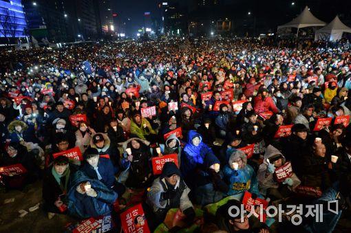 [포토]평화로운 100만 촛불집회