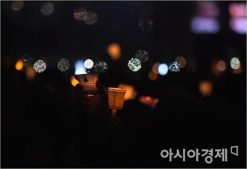 [포토]흥겨운 촛불